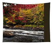 Ontario Autumn Scenery Tapestry