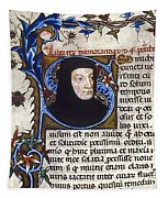 Petrarch (1304-1374) Tapestry