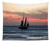 Sunset Key West  Tapestry