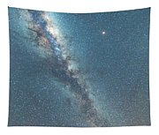 The Milky Way And Mars Tapestry