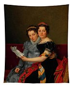 The Sisters Zenaide And Charlotte Bonaparte Tapestry