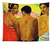 Three Tahitians Tapestry
