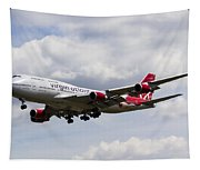 Virgin Atlantic Boeing 747 Tapestry