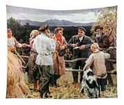 Vladimir Lenin (1870-1924) Tapestry