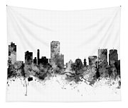 Wellington New Zealand Skyline Tapestry