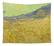 Wheatfield With A Reaper Tapestry
