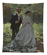Bazille And Camille Tapestry