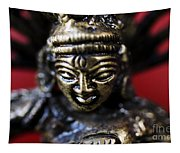 Buddha Sculpture Tapestry