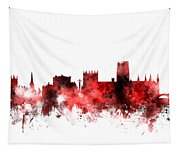 Durham England Skyline Cityscape Tapestry