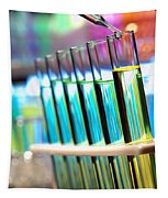Laboratory Experiment In Science Research Lab Tapestry