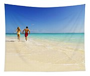 Lanikai Beach Tapestry