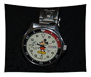 Mickey Mouse Watch Tapestry