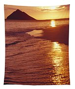 Oahu, Lanikai Beach Tapestry