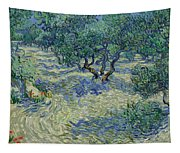 Olive Orchard Tapestry