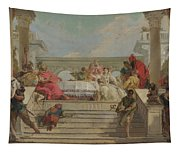 The Banquet Of Cleopatra Tapestry