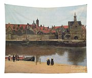 View Of Delft Tapestry