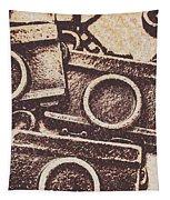50s Brownie Cameras Tapestry