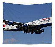 British Airways Boeing 747 Tapestry