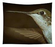 Female Ruby-throated Hummingbird Tapestry