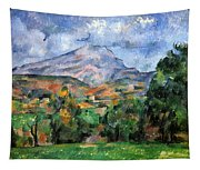 Montagne Sainte-victoire Tapestry