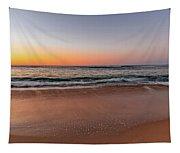 Sunrise Beach Seascape Tapestry