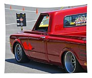 '67 Chevy C10 Awaits Green Light Tapestry