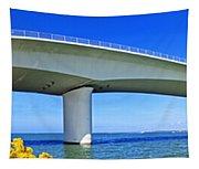 6x1 Sarasota Skyline With Ringling Causeway Bridge Tapestry