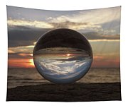 7-24-16--4250 Don't Drop The Crystal Ball, Crystal Ball Photography Tapestry
