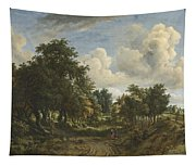 A Wooded Landscape Tapestry