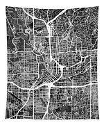 Atlanta Georgia City Map Tapestry