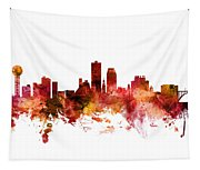 Knoxville Tennessee Skyline Tapestry