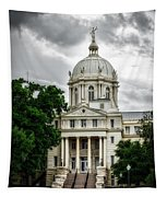 Mc Lennan County Courthouse - Waco Texas Tapestry