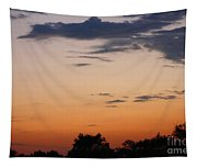 Sunset Moreno Valley Ca Tapestry