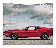 72 Mustang Tapestry