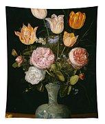 Flower Vase Tapestry