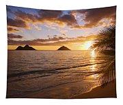 Lanikai Sunrise Tapestry