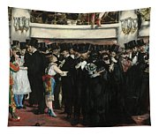 Masked Ball At The Opera Tapestry