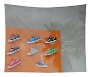 8 Sneakers Tapestry
