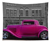 Ford Hot Rod Tapestry
