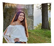 Golden Hour Senior  Tapestry