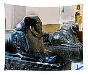 The Egyptian Museum Of Antiquities - Cairo Egypt Tapestry