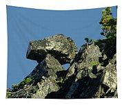 A Balancing Rock  Tapestry