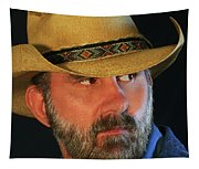 A Bearded Cowboy Tapestry