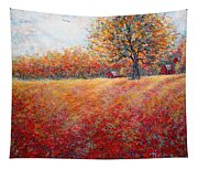 A Beautiful Autumn Day Tapestry