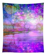 A Bewitching Purple Morning Tapestry