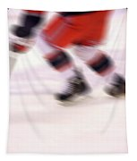 A Blur Of Ice Speed Tapestry