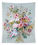 A Bouquet Of Roses Tapestry