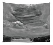 A Break In The Storm Bw Tapestry
