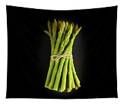 A Bunch Of Fresh Asparagus. Tapestry