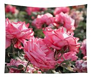 A Bunch Of Pink Tapestry